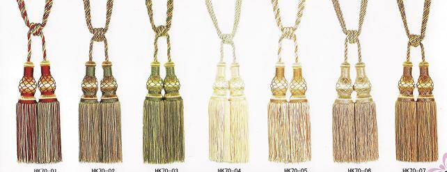 Double Tassels & Tie back (Item Code HK 70)
