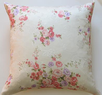 Cream Damask Vintage Blossom  Decorative Pillow Covers