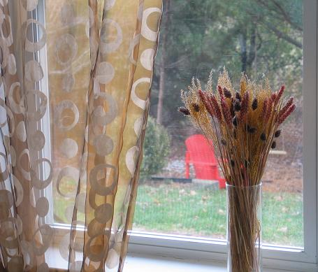 curtain striped of made embroidered soft order quality sheer pattern white grommet high curtains on pair patterned a to fabric gold leaf
