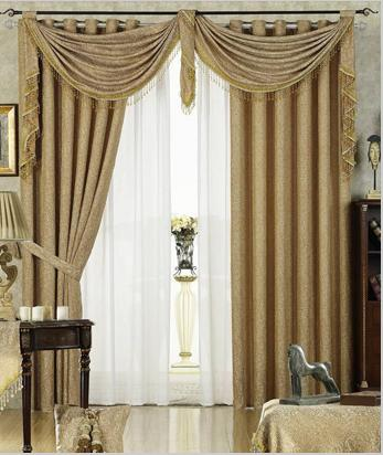 How To Make Waterfall Valance Curtains