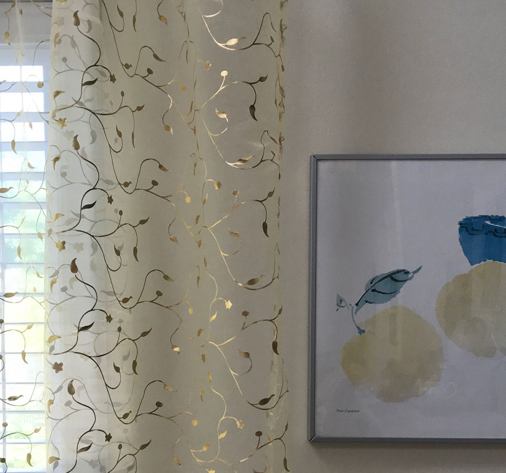 p of curtains and rose vine gold picture sheer